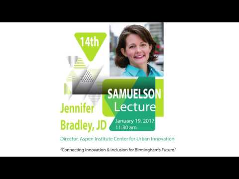 UAB School of Public Health - Samuelson Lecture January 19, 2017