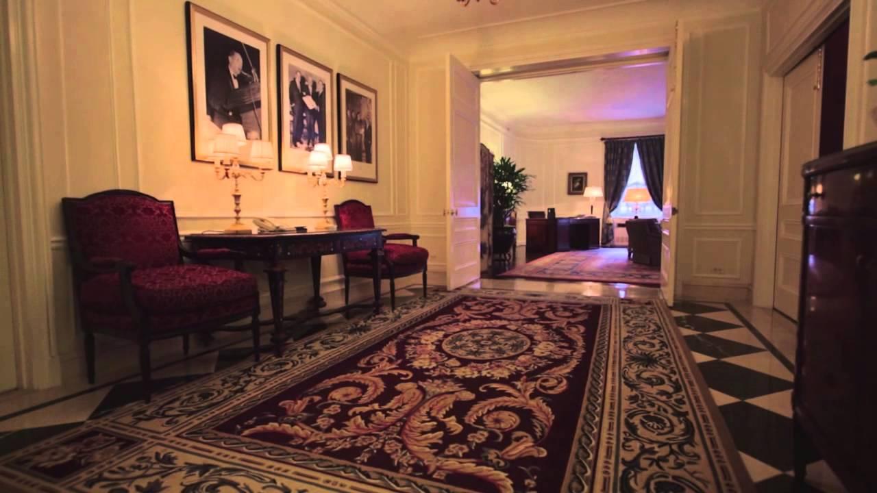 Waldorf astoria new yorkgeneral douglas macarthur suite for Presidential suite waldorf astoria