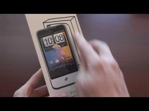 HTC Legend Unboxing