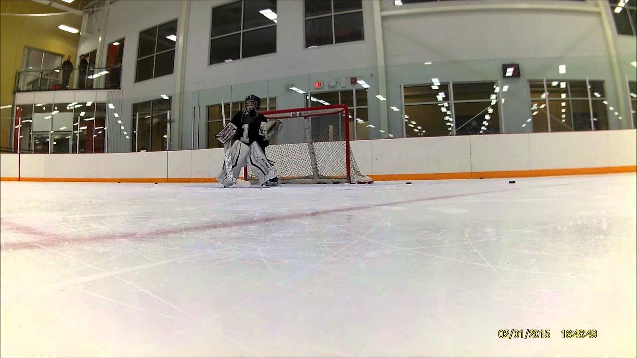 A Few Good Drills 9 Year Old Hockey Goalie Youtube
