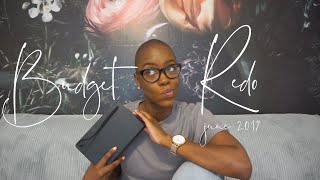 BUDGET REDO June 2019 | $15,500 Income | Zero-Based Budget | STACEY FLOWERS thumbnail
