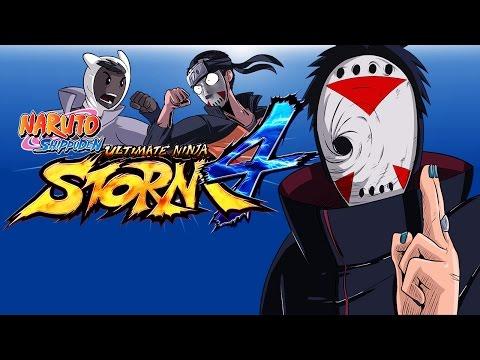 Naruto Ninja Storm 4 Ep. 2 (Delirious Vs DoWrk) 3 Matches!