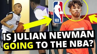 JULIAN NEWMAN LIED ABOUT HIS ENTIRE BASKETBALL CAREER... IS HE GOING TO THE NBA OR YOUTUBE?