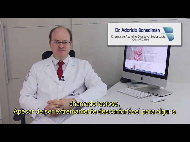 Dr. Adorísio Bonadiman / Intolerância Lactose