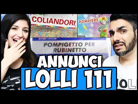 PUNTATA EPICA (non è uno scherzo) !11!1 - Annunci Lolli 111