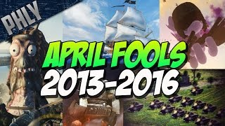 What was your favorite?! - war thunder april fools 2013-2016
