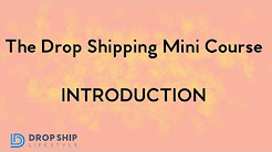 What Is Drop Shipping?  The Beginner Mini Course Series From Anton Kraly of Drop Ship Lifestyle