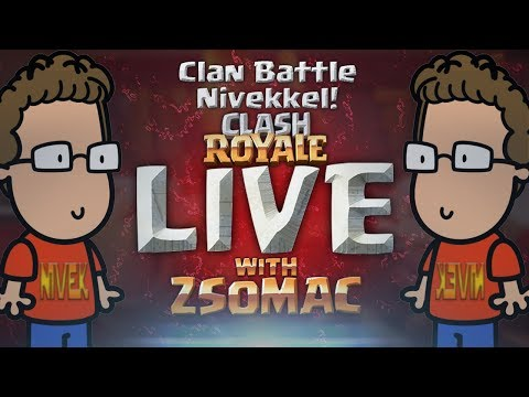Clan Battle Nivekkel!   Clash Royale Magyarul