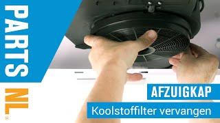 Koolstoffilter vervangen van afzuigkap, PartsNL uitleg