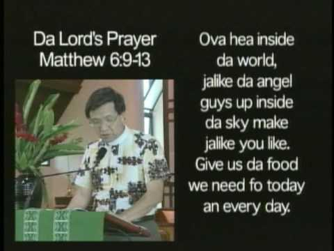 Da Hawaii Pidgin Bible Lord
