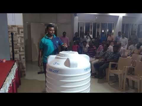 Selzer HDPE water tank