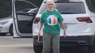 Woman arrested, accused of racial tirade