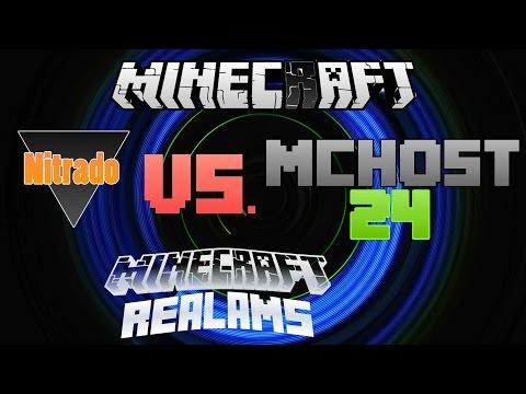 Nitrado Vs MCHOST Vs Minecraft Realams Server Battle Дом - Minecraft server erstellen nitrado kostenlos