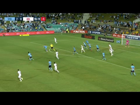A-League 2018/19: Round 21 - Sydney FC v Adelaide United (Full Game)
