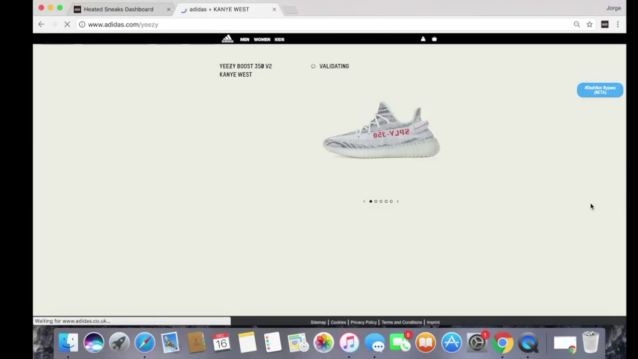 Adidas Splash Page Bypassed by All in One DashBot by Heated Sneaks ... 7c0b05635
