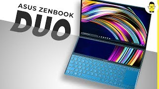 ASUS ZenBook Duo First Impressions: this laptop has two displays and I'm loving it!