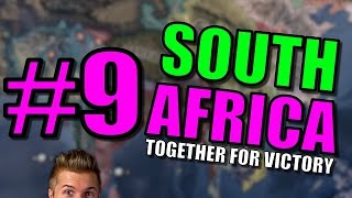 Hearts of Iron 4 Together for Victory - South Africa Let's Play | Hearts of Iron IV Gameplay: Part 9