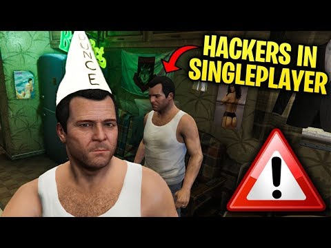 *WARNING* MODDERS CAN NOW KILL YOU IN SINGLEPLAYER IN GTA 5!