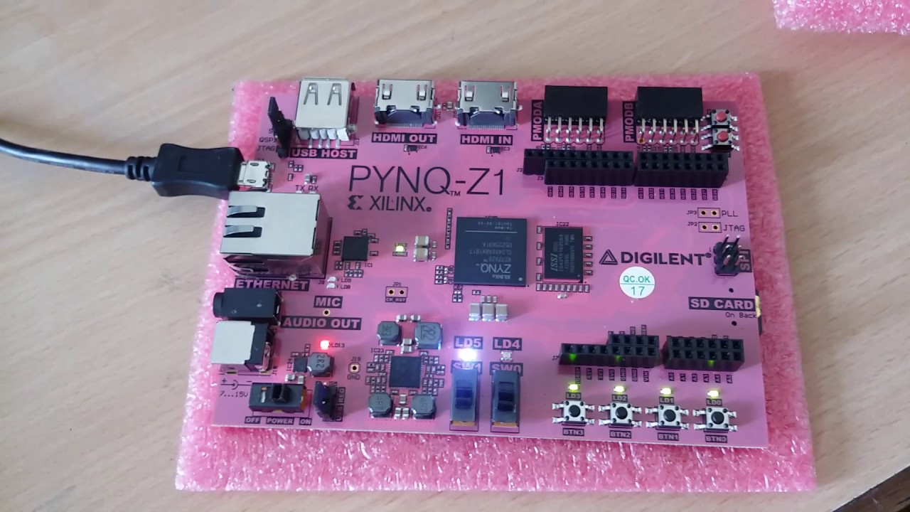 Unboxing Pynq FPGA Board - Python Productivity for ZYNQ by Digitronix Nepal
