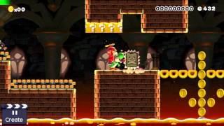 Super Mario Maker - New Super Mario Bros. U: Castle (Yoshi)