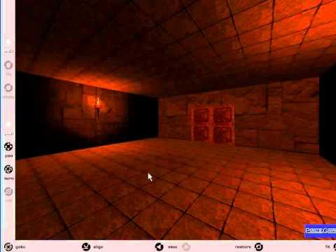 Controlar el punto de vista en VRML.© UPV