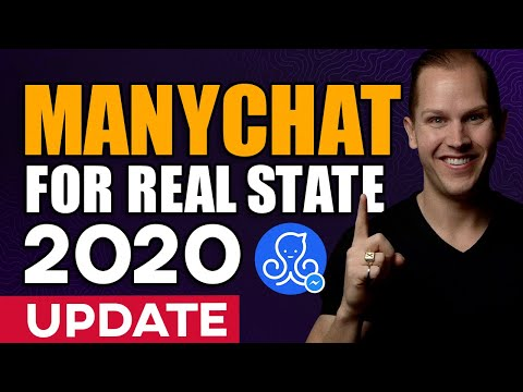 ManyChat For Real Estate Agents In 2020 [Messenger Chatbot UPDATE]