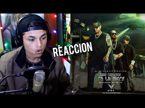Wisin, Yandel, Daddy Yankee - Todo Comienza en la Disco (Official Video) Reaccion !