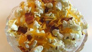 Betty's Bacon-Cheddar Popcorn