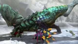 Nintendo 3DS - Trailer - Monster Hunter 3 Ultimate - Battle