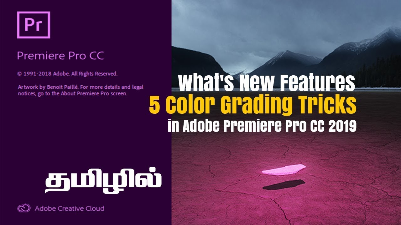 What's New Features & Color Grading Tricks in Adobe Premiere Pro CC 2019 l  Red Lights FX in Tamil