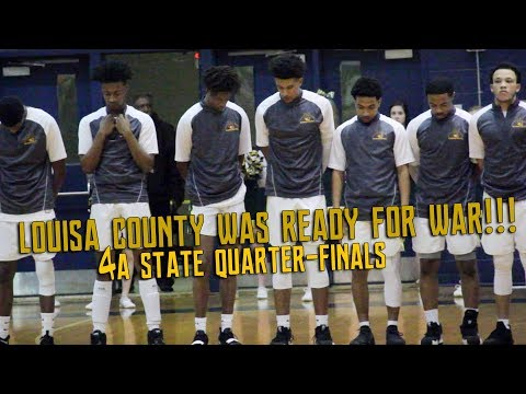 LOUISA COUNTY WAS READY FOR WAR!!! (4A STATE QUARTER-FINALS)