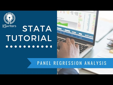 STATA TUTORIAL: Panel Regression Analysis