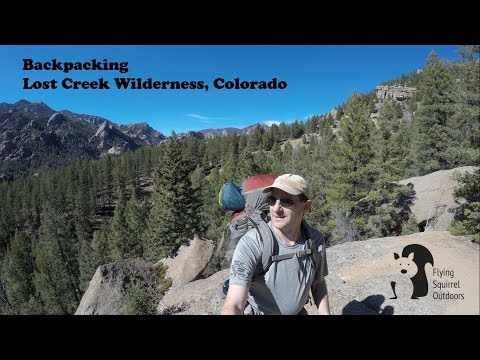 Lost Creek Wilderness, Colorado - Solo Backpacking