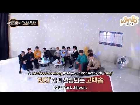 Wanna One (박지훈) Park JiHoon 's Confession Singing I'm In Love ❤