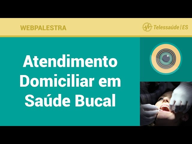 WebPalestra: Atendimento Domiciliar em Saúde Bucal