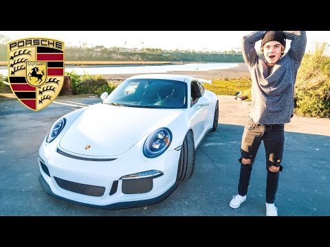 MY PORSCHE 911 GT3 FOR THE DAY!!! (REACTIONS)