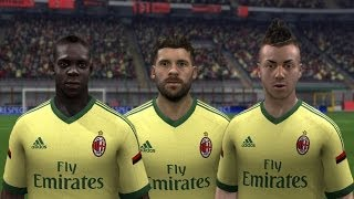 FIFA 15 | AC Milan New Third Kit 14/15 Thumbnail