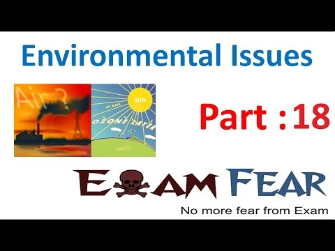 Biology Environmental Issues part 18 (Radioactive wastes) class 12 XII