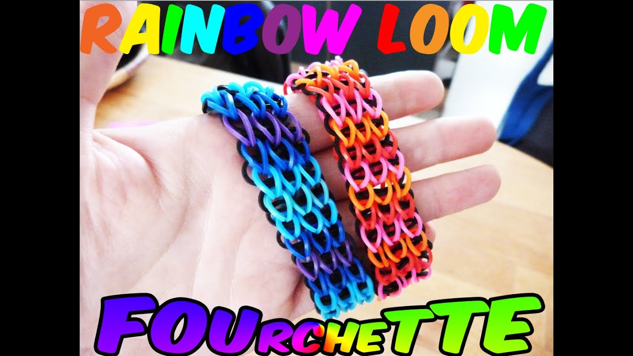 très convoité gamme de aliexpress moderne et élégant à la mode TUTO : bracelet Rainbow Loom® original triple sans machine en français
