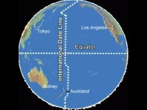 Where is the international date line in Perth