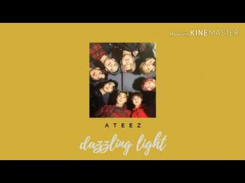 Ateez - Dazzling Light [slowed]
