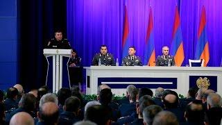 ՀՀ ոստիկանության կոլեգիայի նիստը