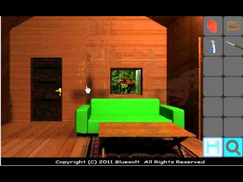 Log house escape walkthrough youtube for Minimalistic house escape 5 walkthrough