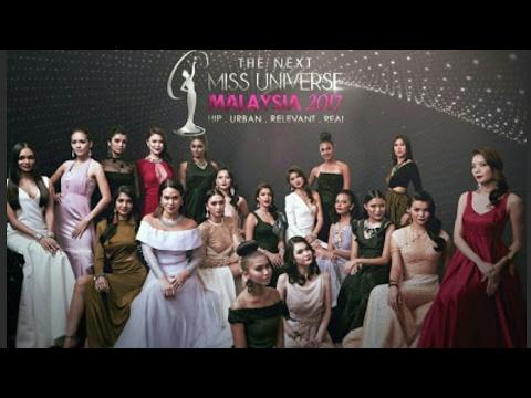 TOP 18 MISS UNIVERSE MALAYSIA 2017