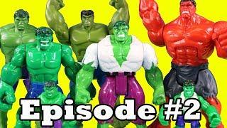 Hulk Family Episode 2 ! True Heroes Leo Joins Hulk Family ! Superhero Toys