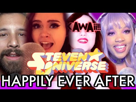 Steven Universe - Happily Ever After [cover] - Caleb Hyles (feat. Annapantsu, EileMonty, Jayn)
