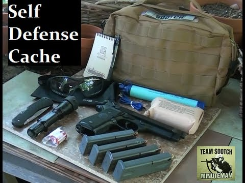 Self Defense Cache Bag