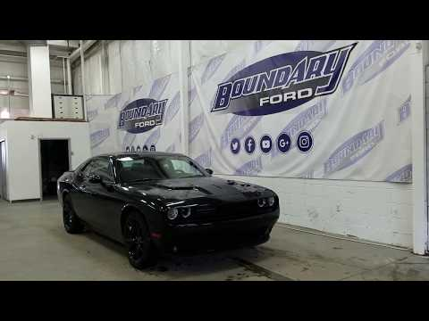 Preowned 2017 Dodge Challenger SXT Blacktop Plus W/ 3.6L V6, Leather, Overview | Boundary Ford
