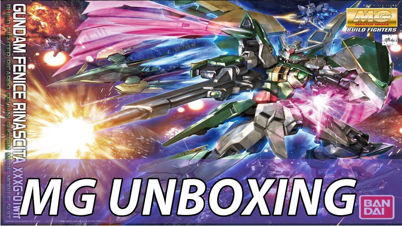 Bandai High Grade HG Gundam Build Fighters Ricardo Fellini Wing Fenice Model Kit