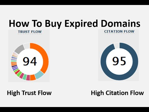How To Find Expired Domains With High TF & CF Authority